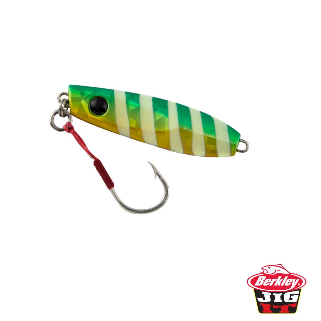 Berkley jig it lolly drop berkley fishing for Berkley fishing apparel